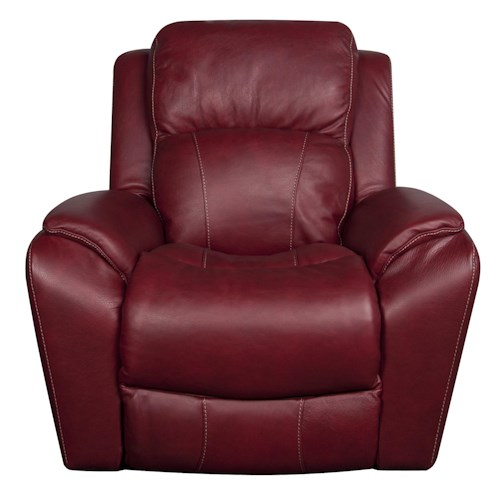 La-Z-Boy Barrett Leather-Match* PWR Rocker Recliner