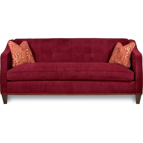 La-Z-Boy Bijou Premier Sofa with Bench-Style Seat Cushion