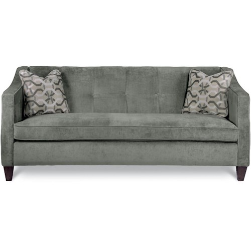 La-Z-Boy Paprikash Premier Sofa with Bench-Style Seat Cushion