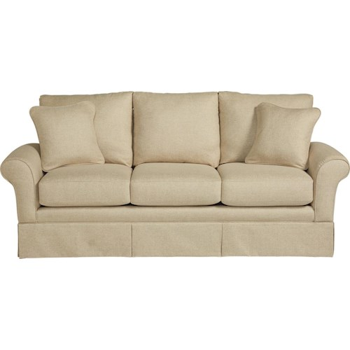 La-Z-Boy Blair Casual La-Z-Boy® Sofa with Kick Pleat Skirt