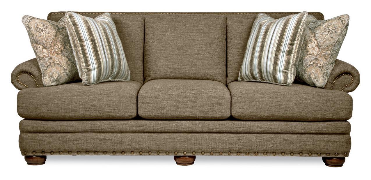 La Z Boy Brennan Traditional Sofa With Comfort Core