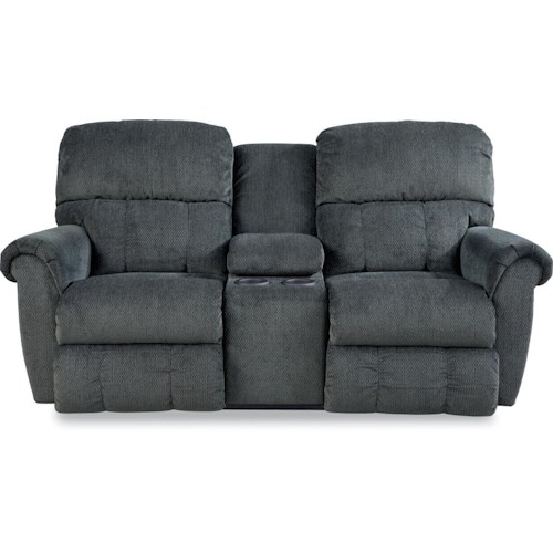 La-Z-Boy Zachary Power Dual Recline Console Loveseat