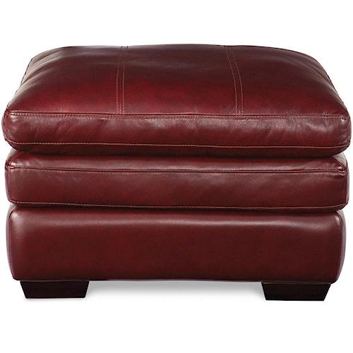 La-Z-Boy Burton Casual Ottoman with Pillow Top Cushion
