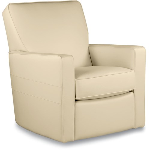 La-Z-Boy Chairs Midtown Contemporary Swivel Glider Chair