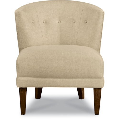 La-Z-Boy Chairs Nolita Accent Chair with Tapered Wood Legs