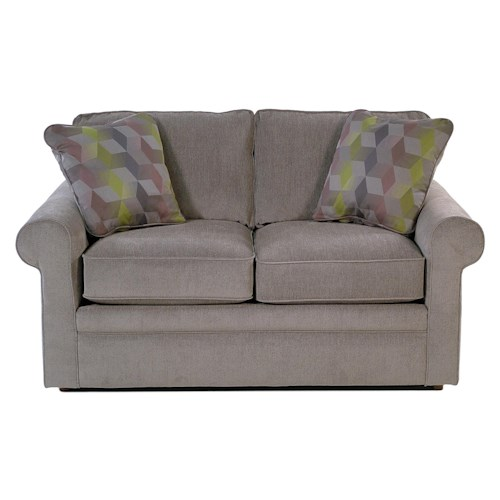 La-Z-Boy Baltic Loveseat with Rolled Arms