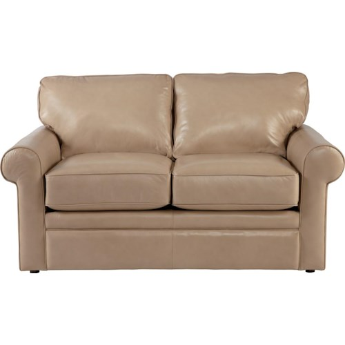 La-Z-Boy Collins Loveseat with Rolled Arms