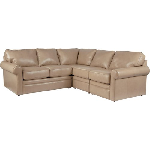 La-Z-Boy Collins Four Piece Corner Sectional Sofa