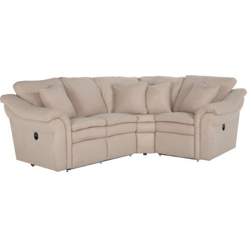 La-Z-Boy Devon  3 Pc Power Reclining Sectional Sofa with LAS Sofa