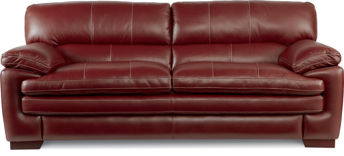 LaZBoy Dexter Casual Stationary Sofa With Pillow Top Arms And Seat