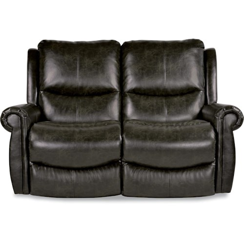La-Z-Boy DUNCAN Power-Recline-XRw™ Full Reclining Wall-Saver Loveseat with Rolled Arms