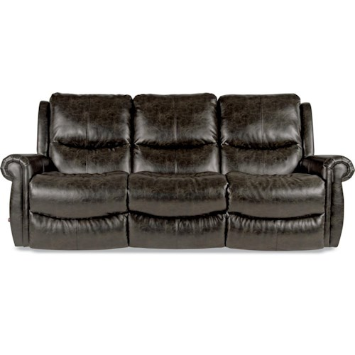 La-Z-Boy DUNCAN Reclina-Way® Full Reclining Wall-Saver Sofa with Rolled Arms