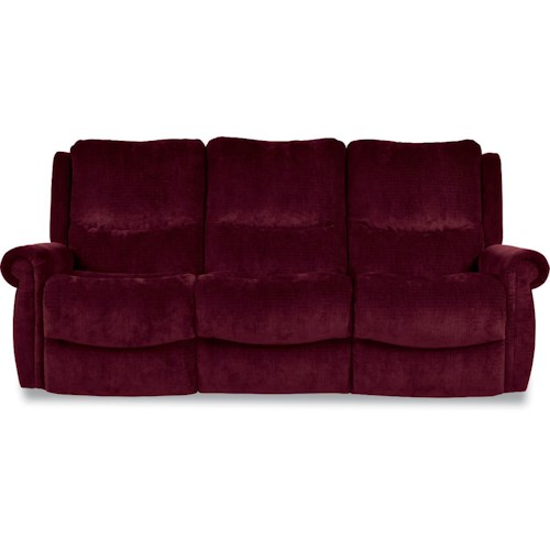 La-Z-Boy DUNCAN Power-Recline-XRw™ Full Reclining Wall-Saver Sofa with Rolled Arms