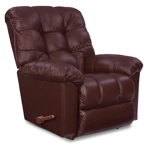 La-Z-Boy Gibson Leather Reclina-Rocker® Reclining Chair