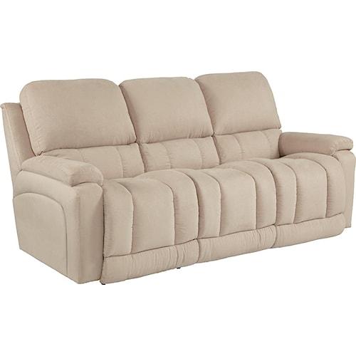 La-Z-Boy Greyson Casual La-Z-Time®Full Reclining Sofa with Bucket Seating