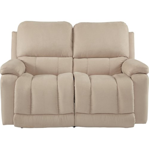 La-Z-Boy Greyson Casual La-Z-Time® Full Reclining Loveseat with Bucket Seating