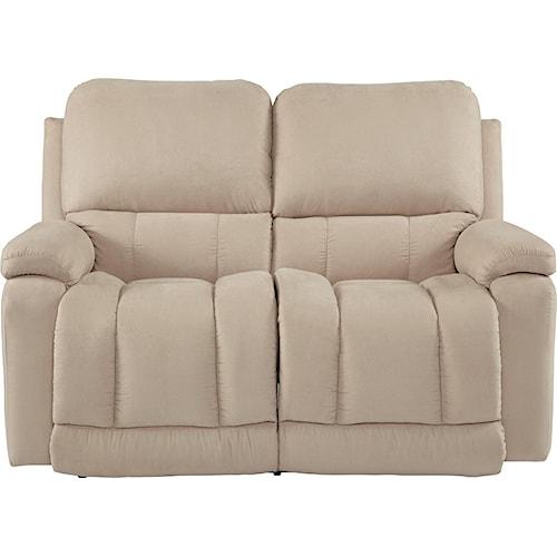 La-Z-Boy Greyson Casual La-Z-Time® Full Reclining Loveseat with Bucket Seating