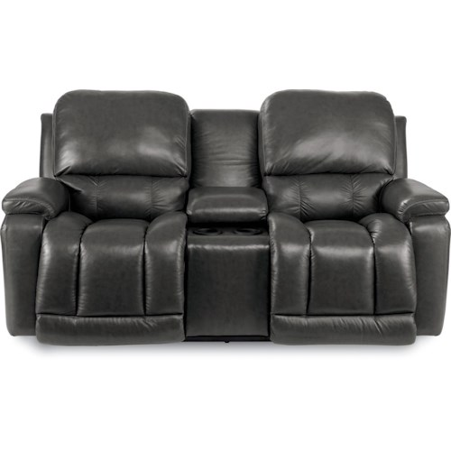 La-Z-Boy Greyson Casual Power La-Z-Time® Full Reclining Loveseat with Bucket Seating