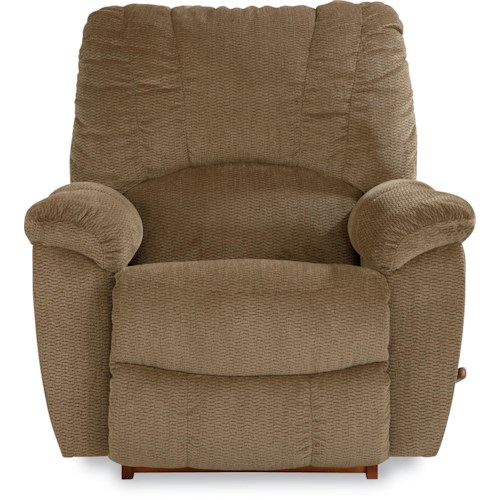 La-Z-Boy Nautilus Casual RECLINA-ROCKER® with Channel-Stitched Back