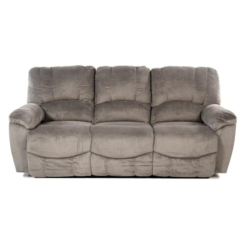 La-Z-Boy Nautilus Casual La-Z-Time® Full Reclining Sofa with Channel-Stitched Back