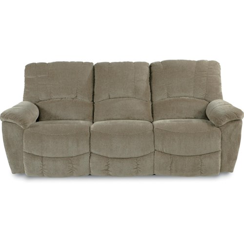 La-Z-Boy Nautilus Casual Power La-Z-Time®Full Reclining Sofa with Channel-Stitched Back