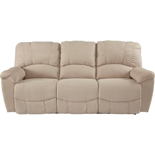 La-Z-Boy Hayes Casual Power La-Z-Time® Full Reclining Sofa with Channel-Stitched Back