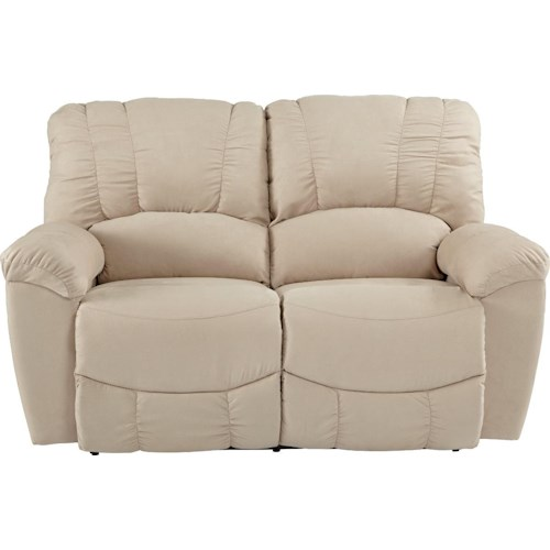La-Z-Boy Hayes Casual Power La-Z-Time® Full Reclining Loveseat with Channel-Stitched Back