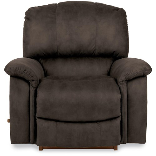 La-Z-Boy Sultry Casual RECLINA-GLIDER® Swivel Recliner with Bucket Seat
