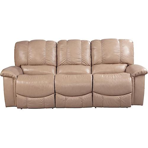La-Z-Boy Sultry Casual Jace La-Z-Time® Full Reclining Sofa with Bucket Seats
