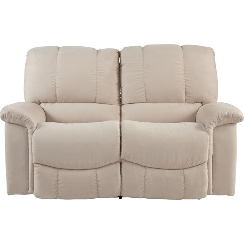 La-Z-Boy Jace Casual Jace La-Z-Time® Full Reclining Loveseat with Bucket Seats