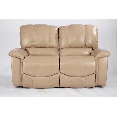 La-Z-Boy Sultry Casual Jace La-Z-Time® Full Reclining Loveseat with Bucket Seats