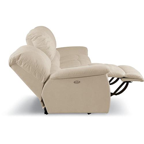 La-Z-Boy Jace Casual Jace Power La-Z-Time® Full Reclining Loveseat with Bucket Seats