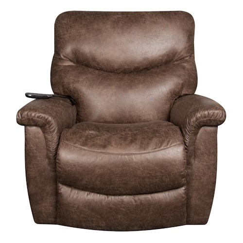 La-Z-Boy James Power Recliner with Tilt Headrest