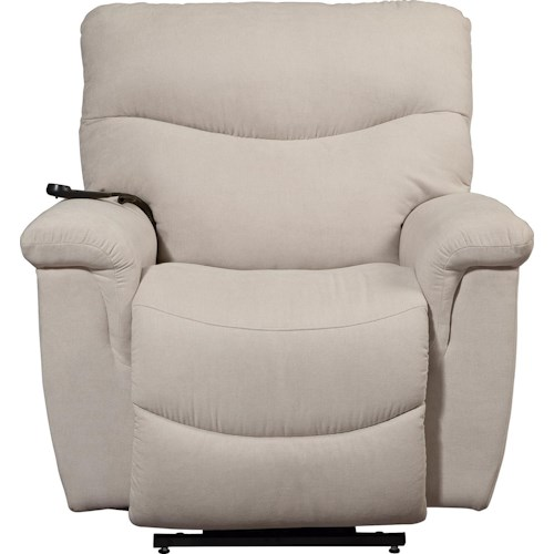La-Z-Boy Palladin Casual Silver Luxury Lift® Power Recliner