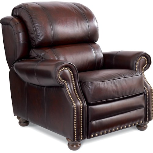 La-Z-Boy JAMISON Traditional High Leg Leather Recliner