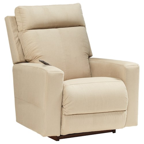 La-Z-Boy Jax Contemporary Power-Recline-XR RECLINA-ROCKER® Recliner