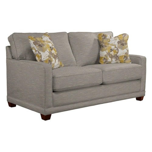La-Z-Boy Kennedy Fog Loveseat