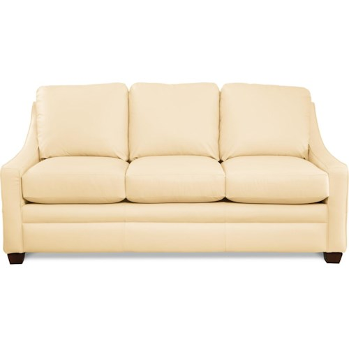 La-Z-Boy NIGHTLIFE Contemporary Sofa with Sloped Track Arms