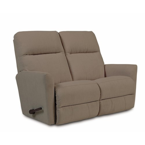 La-Z-Boy Odon Contemporary Wall-Saver Reclining Loveseat