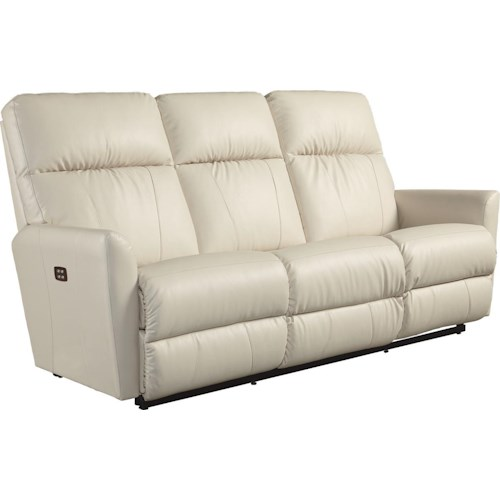 La-Z-Boy Odon Contemporary Power-Recline-XRw™ Wall-Saver Reclining Sofa