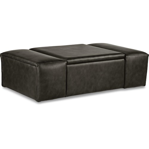 La-Z-Boy Ottomans  Depot Storage Ottoman with Casters
