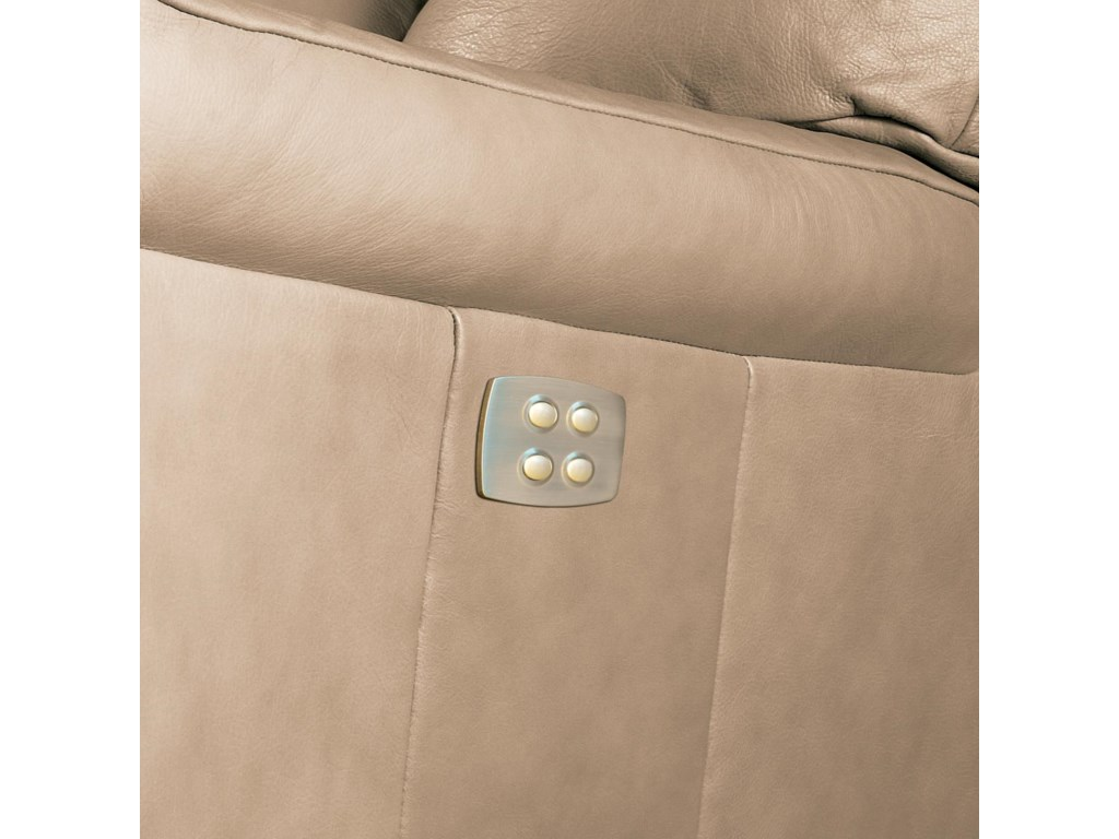 New Recline Activation Buttons Shown on Alternate Model