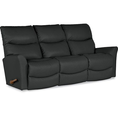 La-Z-Boy ROWAN Contemporary Reclina-Way® Full Reclining Sofa with Wall Saver Mechanism