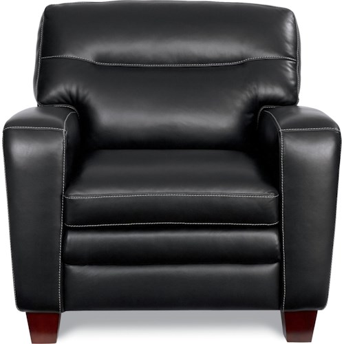 La-Z-Boy SIMONE Contemporary Stationary Chair With Block Legs