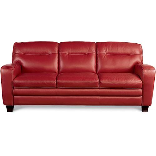 La-Z-Boy SIMONE Contemporary Sofa With Block Legs