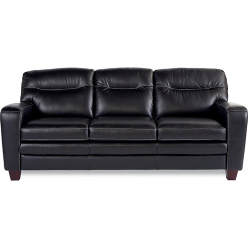 La-Z-Boy SIMONE Contemporary Sofa With Block Legs