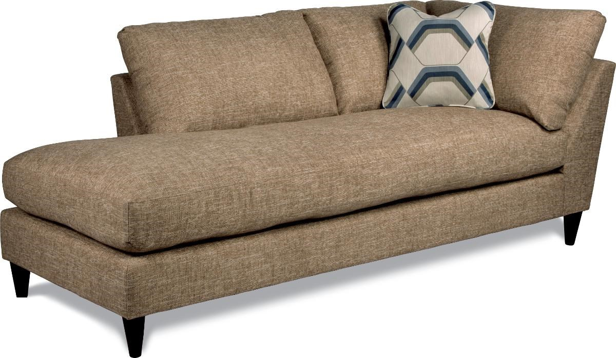 lazboy tribeca right arm sitting chaise lounge with toss pillow gill brothers furniture chaises - Tribeca Bedroom Set