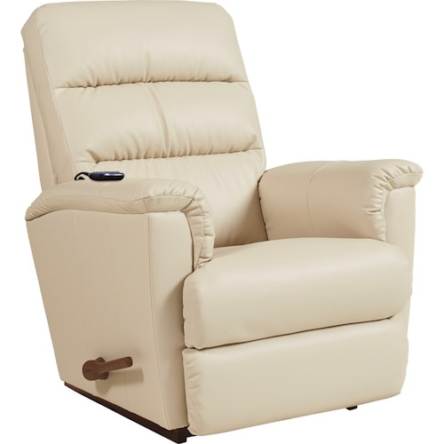 La-Z-Boy Tripoli Casual Rocker Recliner with 2-Motor Massage & Heat