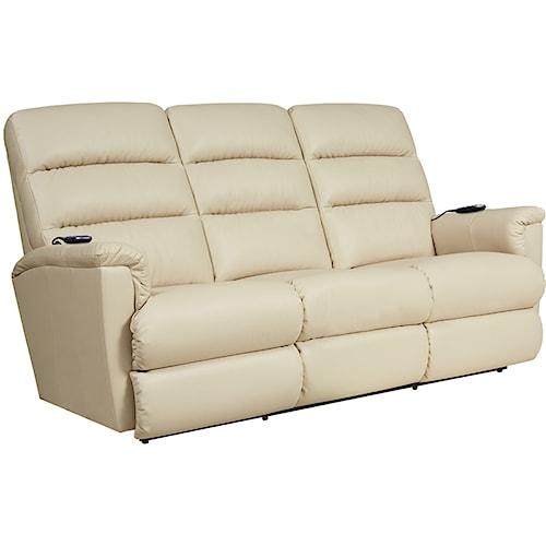 La-Z-Boy Tripoli Power-Recline-XRw™+ Wall Saver Reclining Sofa with Power Tilt Headrest and Lumbar
