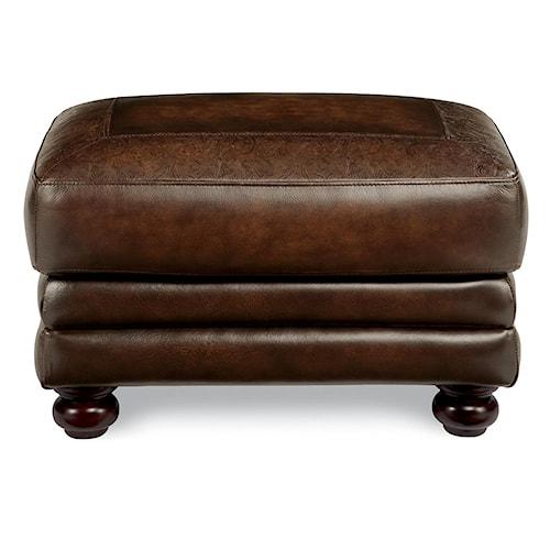 La-Z-Boy William Traditional Upholstered Ottoman